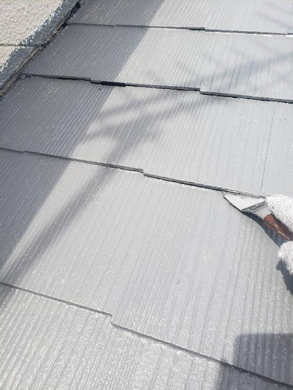 外壁塗装 杉並区K様邸 タスペーサー設置中2020061625425