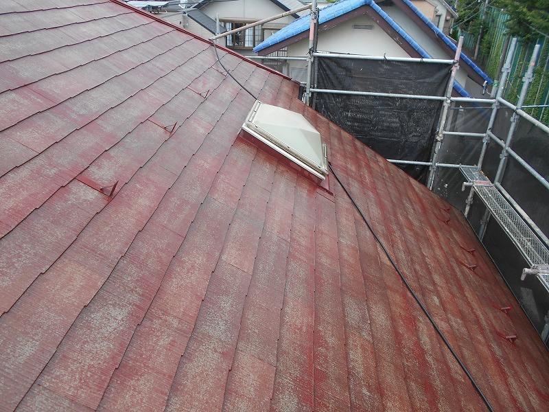 屋根をきれいに洗浄しました。