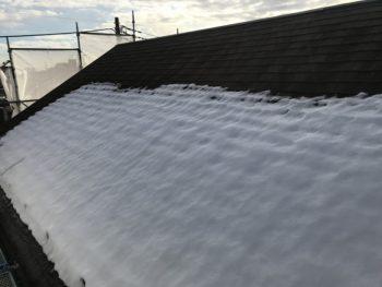 外壁塗装 世田谷区M様邸 屋根洗浄前201801300361