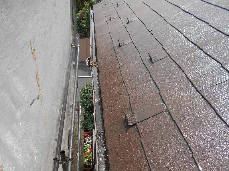 屋根がきれいに洗浄されました。
