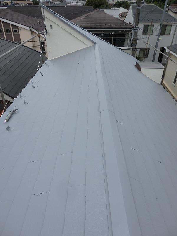 屋根塗装が完了しました!