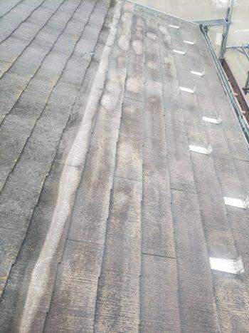 外壁塗装 杉並区M様邸 屋根洗浄中2020070325578