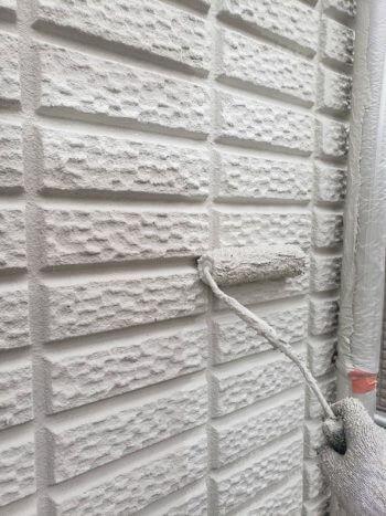 外壁塗装 世田谷区N様邸 外壁上塗り 2020080825991