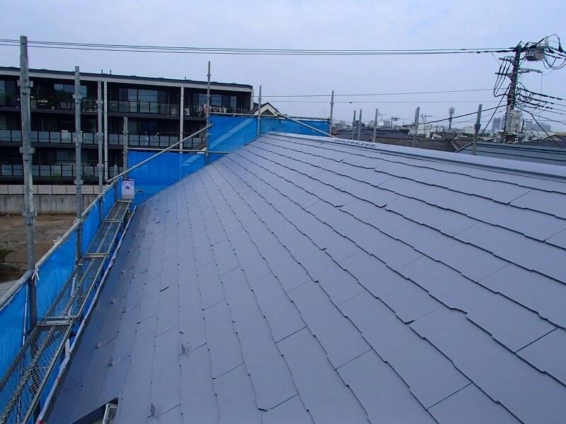 屋根塗装が完了しました。