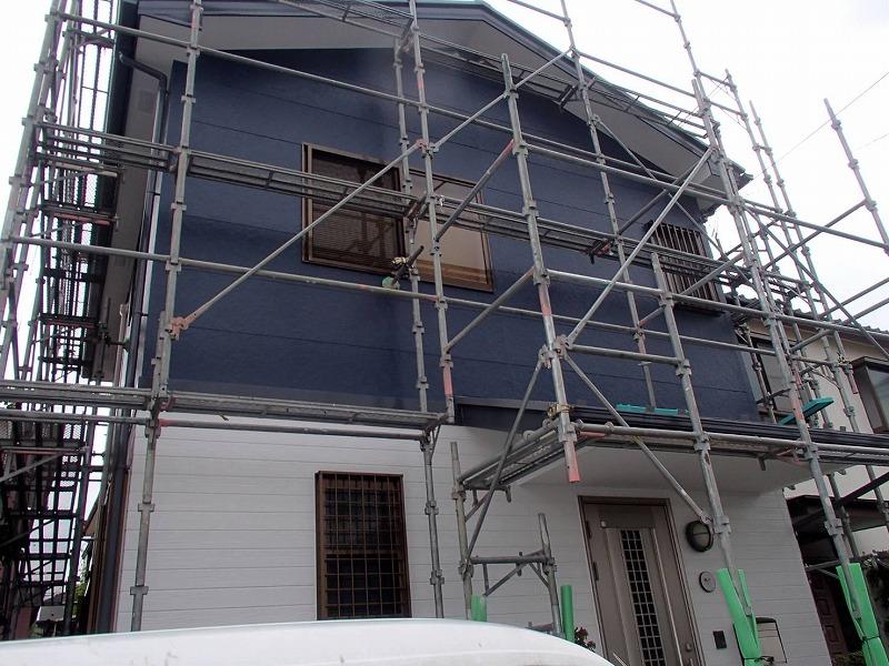 外壁塗装 世田谷区M様邸 塗装完了2020091517513