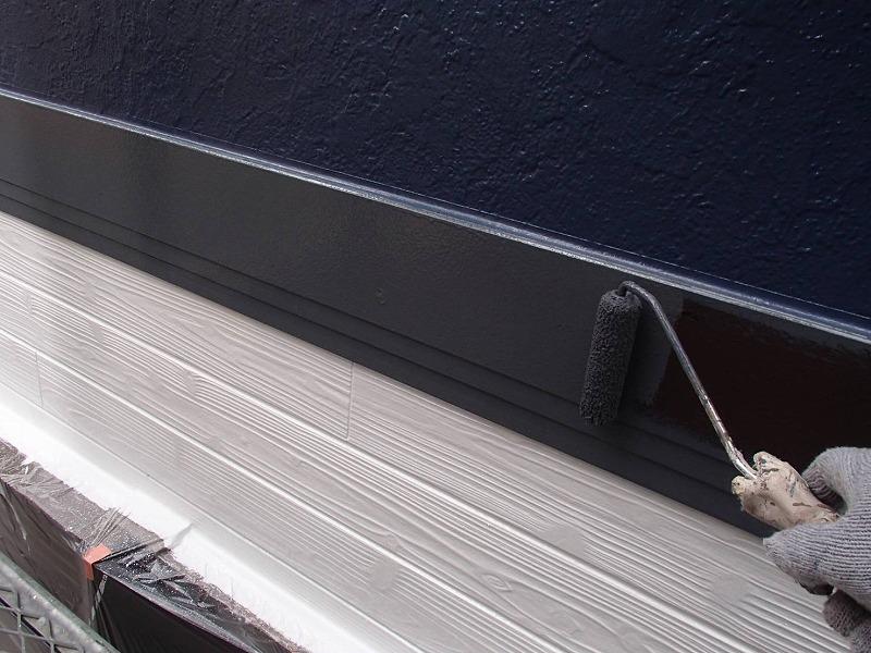 外壁塗装 世田谷区M様邸 帯板塗装中2020091417472