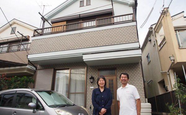 外壁塗装 世田谷区T様 お客様写真 P9180018