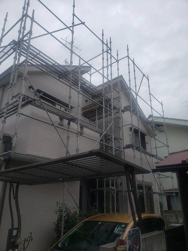 外壁塗装 世田谷区D様邸 塗装完了 2020101427001