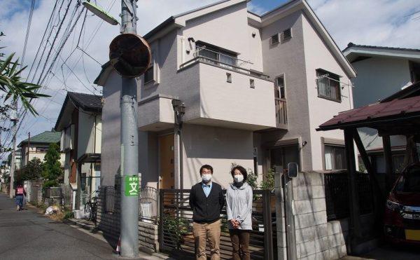 外壁塗装 世田谷区D様 お客様写真 PA240212