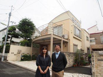 外壁塗装 世田谷区T様邸 お客様写真 PA010044
