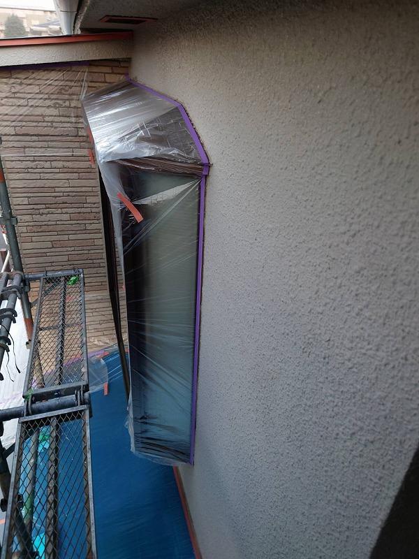外壁塗装 世田谷区T様邸 養生202010203763