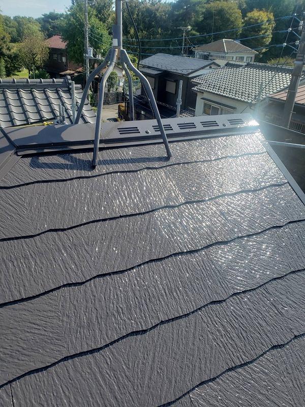 外壁塗装 小金井市T様邸 屋根塗装完了 2020102427162