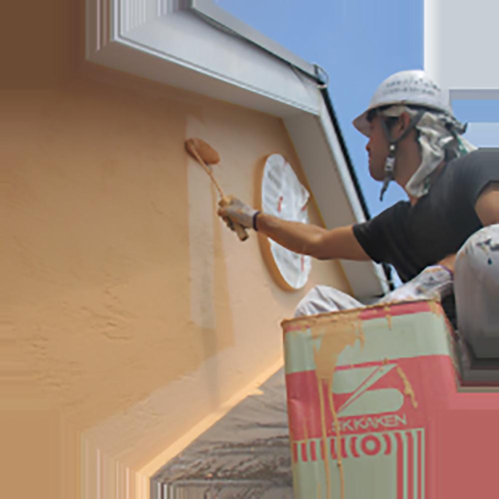 屋根塗装(下塗り・中塗り・上塗り)