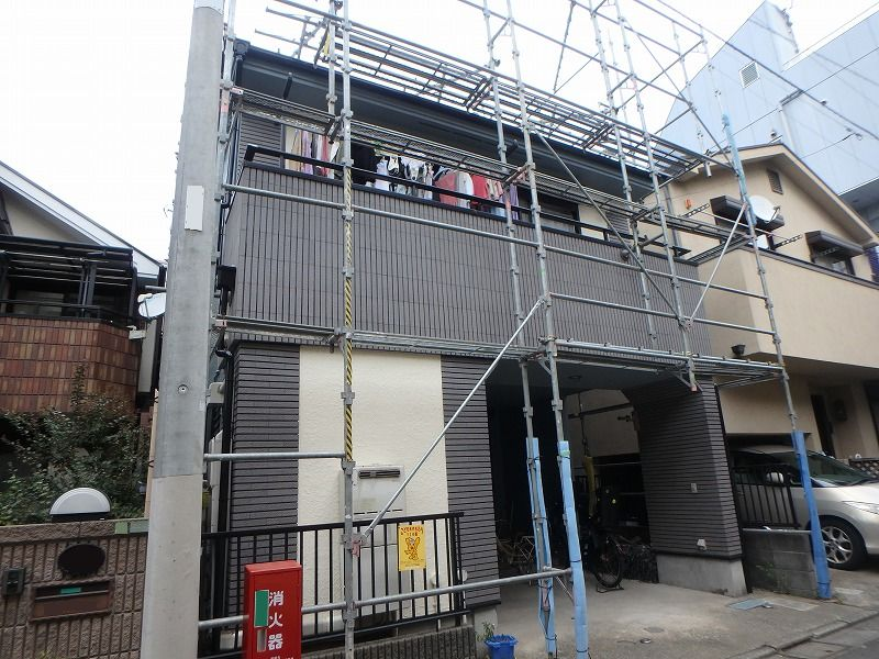 外壁塗装 世田谷区I様邸 施工後外壁全景PB060137