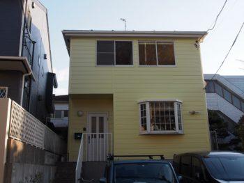 外壁塗装 世田谷区S様邸 施工後外壁全景PB110252