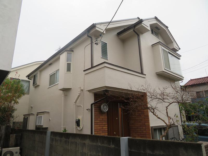 外壁塗装 世田谷区F様邸 施工後外壁全景IMG_8431