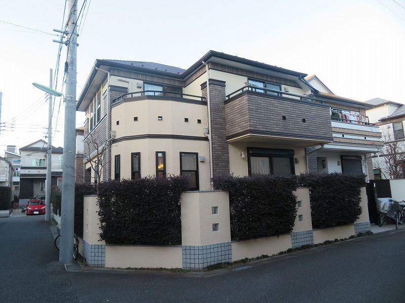 外壁塗装 世田谷区S様邸 施工後全景IMG_8442