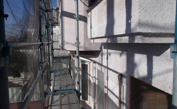 外壁塗装 世田谷区S様邸 外壁下塗り完了2021011320042