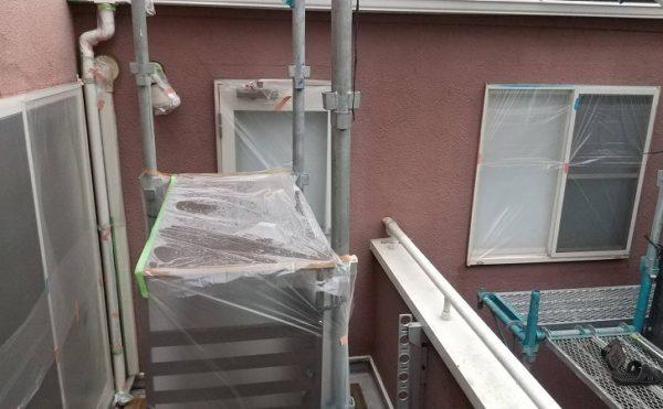 外壁塗装 世田谷区S様邸 養生完了2021011220026