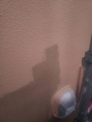外壁塗装 日野市K様邸 外壁中塗り中 2021011428423