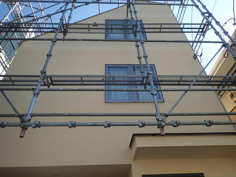 外壁塗装 世田谷区E様邸 塗装完了2021022221014