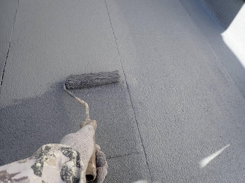 トップコート塗装は2回で終了です(アイカ工業 ジョリエース JA-280)。