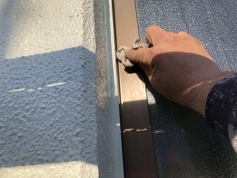 外壁塗装 世田谷区S様邸 窓周り最終チェック2021022219398661