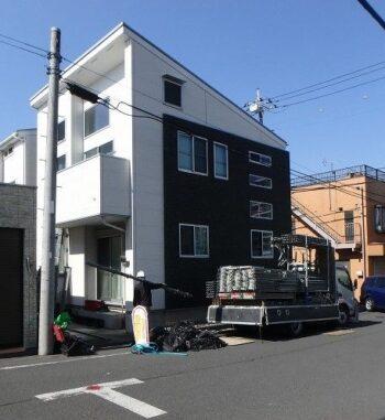 外壁塗装 調布市K様邸 足場設置 20210222P2220075