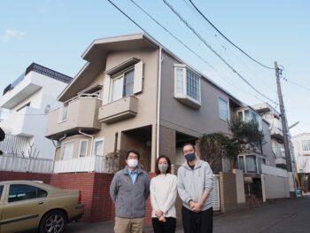 外壁塗装 世田谷区S様邸 お客様写真P2010466