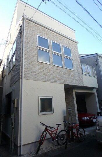 外壁塗装 世田谷区S様邸 施工後外壁全景P2040039