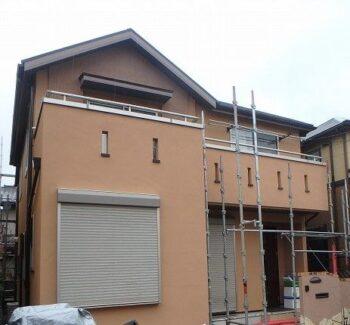 外壁塗装 日野市K様邸 施工後外壁全景P1230007