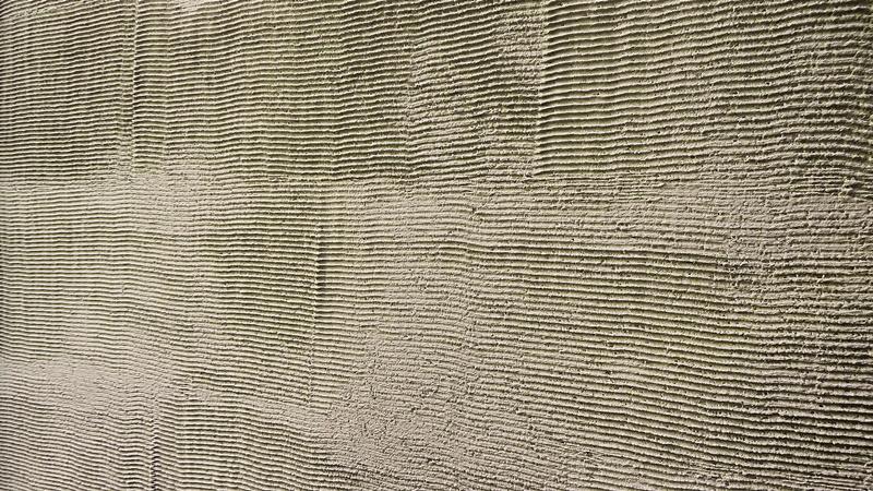 ジョリパット くしびき柄の外壁