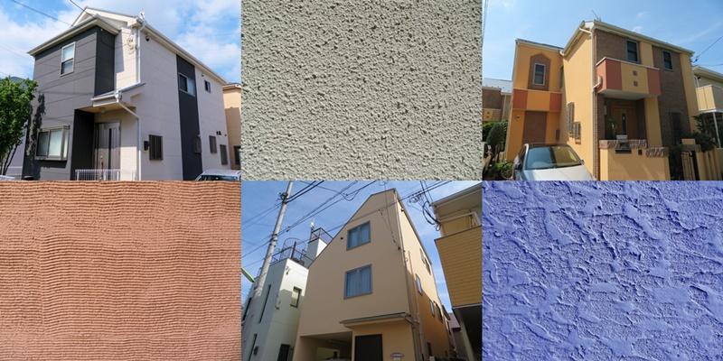 ジョリパット外壁・リシン吹き付け外壁