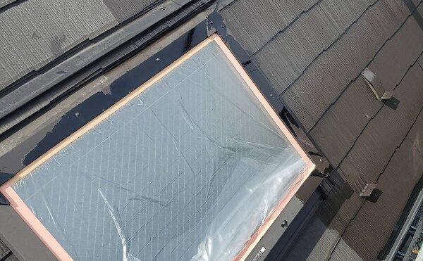 外壁塗装 調布市H様邸 屋根下塗り中 2021042830425