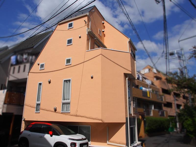 ジョリパット外壁の施工事例 世田谷区G様邸