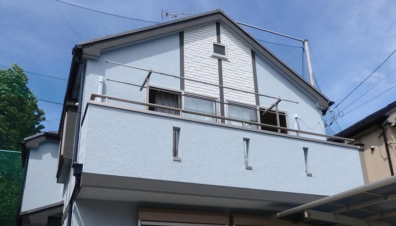 ジョリパット外壁の塗替え