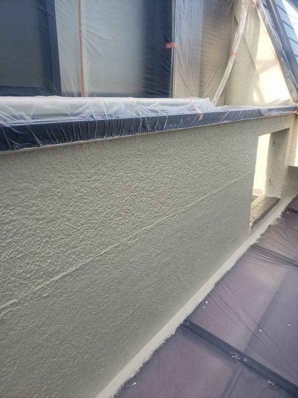 外壁塗装 調布市H様邸 外壁中塗り完了 2021050330474