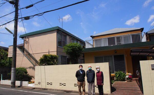 世田谷区Y様 外壁塗装工事の完成記念写真
