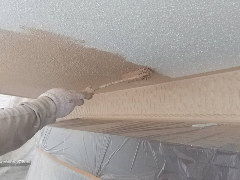 外壁塗装 世田谷区O様邸 外壁中塗り中 2021060723475