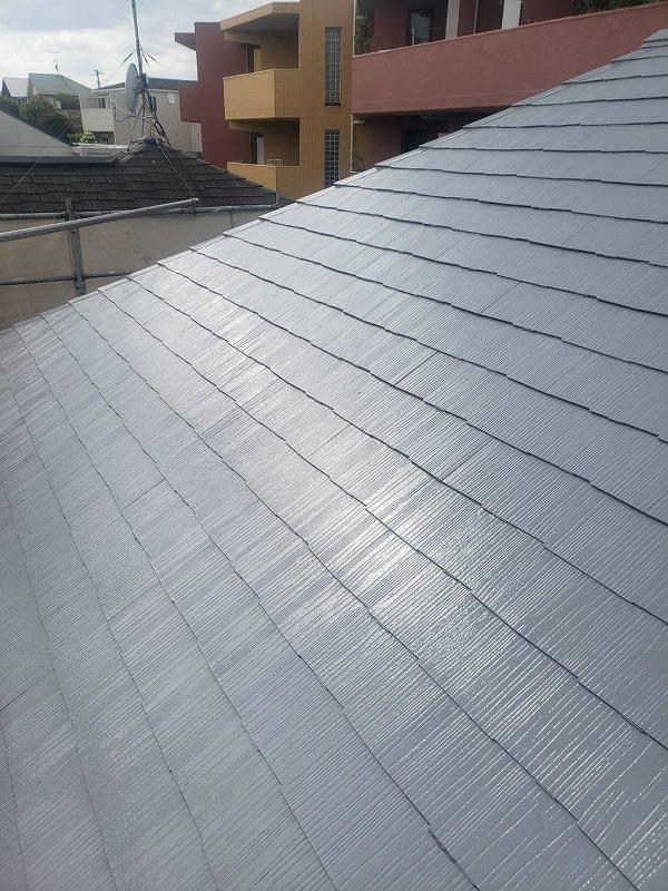 外壁塗装 世田谷区O様邸 屋根塗装完了 2021060330929
