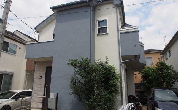 外壁塗装 世田谷区S様邸 施工後外壁全景P5310204