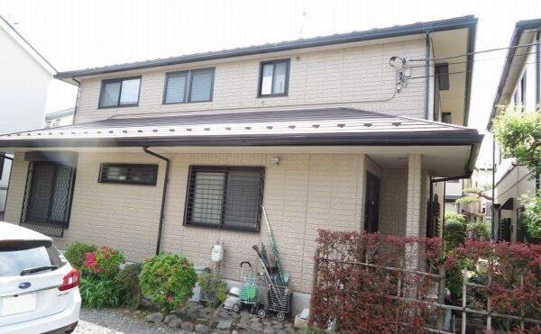 外壁塗装 小金井市M様邸 施工後外壁全景IMG_6679