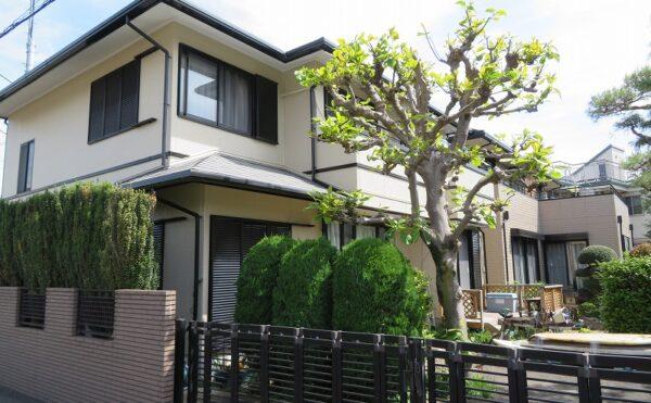 外壁塗装 小金井市T様邸 施工後外壁全景IMG_6684