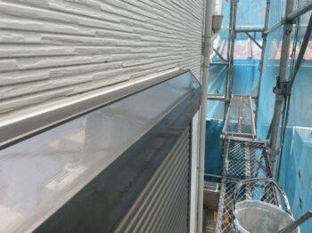 外壁塗装 杉並区K様邸 シャッターボックス塗装完了20210611S__3530769