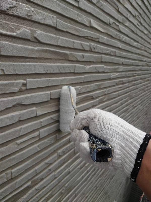 外壁塗装 杉並区U様邸 外壁塗装 クリヤー3分艶 2021060710676