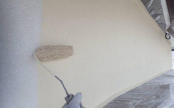 外壁塗装 世田谷区D様邸 外壁中塗り中 2021071024176