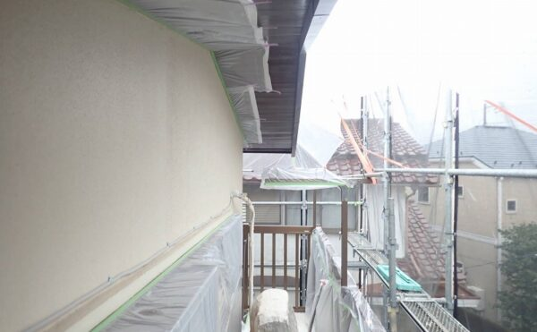 外壁塗装 世田谷区D様邸 養生 2021070824125