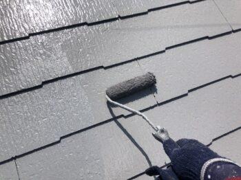 外壁塗装 世田谷区N様邸 屋根上塗り中 20210716S__23191570