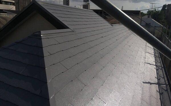 外壁塗装 世田谷区Y様邸 屋根中塗り完了 2021071524307