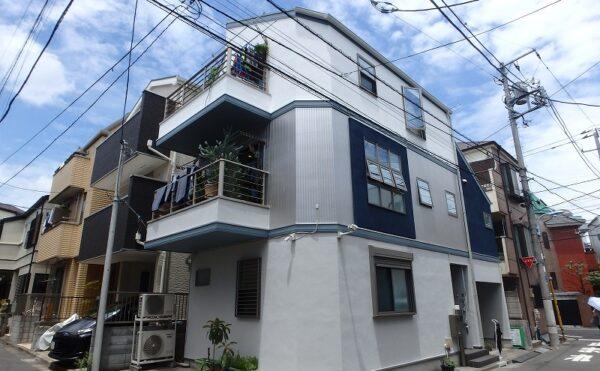 外壁塗装 杉並区S様邸 完成写真 20210607 P6120006